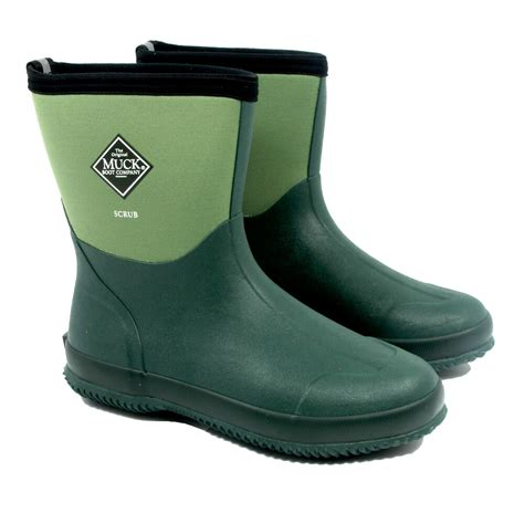 muck boots muck boot scrub moss 163 49 5 garden4less uk shop