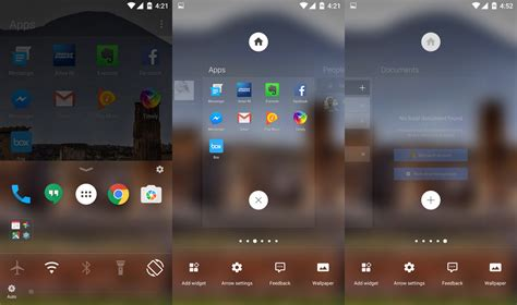 microsoft s arrow launcher is astonishingly android