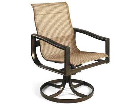 Winston Belvedere Sling Aluminum Swivel Tilt Chair M59079 Swivel Tilt Chair
