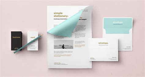 business card letterhead envelope mockup envelope letter psd mockup vol2 psd mock up templates