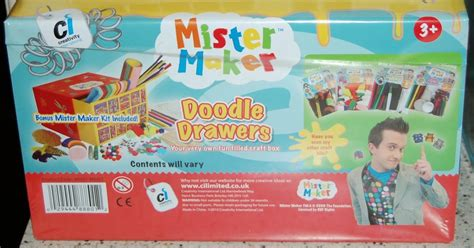 doodle maker cbeebies mr maker doodle drawers my three and me