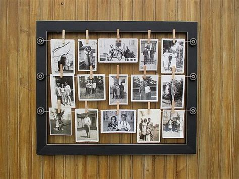 Hanging Picture Frames With Wire how to create a wire photo hanging picture frame for 15