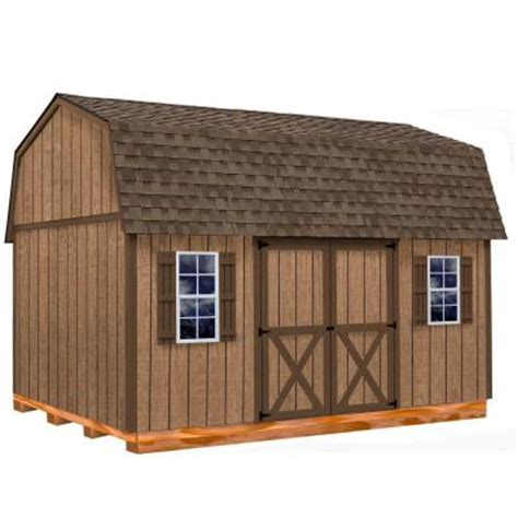 barns homestead  ft   ft wood storage shed kit