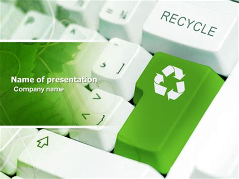 ppt templates free download recycling recycling technology power point templates recycling
