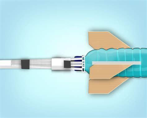 Lem Pipa Paralon Qplast membuat roket dari bekas botol air mineral