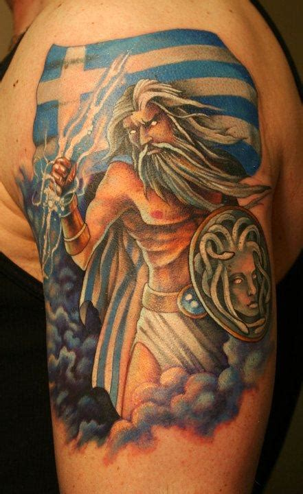 greek warrior tattoo images designs