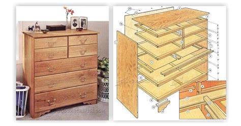 Build Chest Of Drawers build chest of drawers woodarchivist