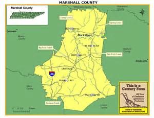 map marshall marshall county tennessee century farms