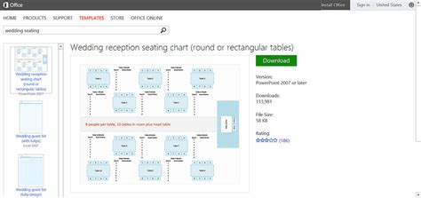 Microsoft Seating Chart Template by Make Wedding Planning Easier Using Microsoft Office