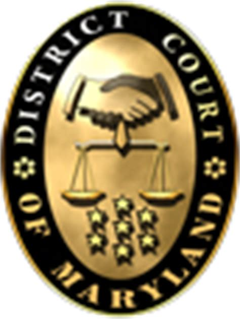 District Court Of Maryland Search Locations Maryland Courts
