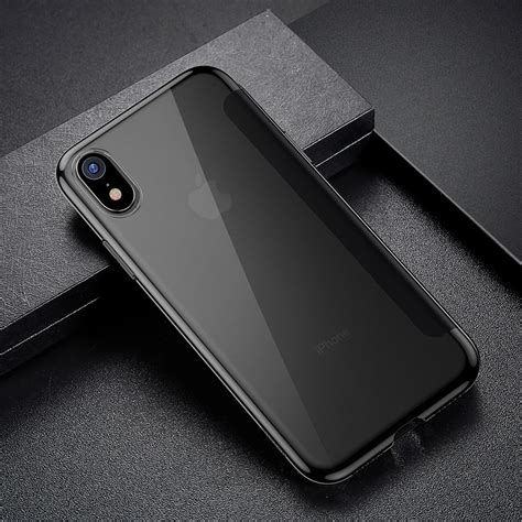 baseus luxury tempered glass filp for iphone xs xs max baseus best iphone x cases