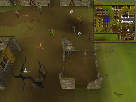 old school runescape treasure trails guide map clue solution west ardougne