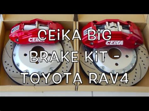 Sport Disc Brake Seal Kit Toyota Avanza ceika big brake kit toyota rav4