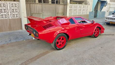 How Many Own Lamborghinis Karachi S Own Custom Made Lamborghini Countach