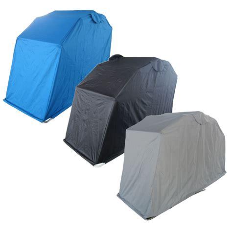 Waterproof Shed waterproof motor bike folding cover storage shed shelter outdoor tent garage new ebay