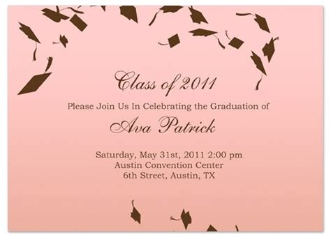 graduation invitation templates microsoft word graduation invitation templates microsoft word business
