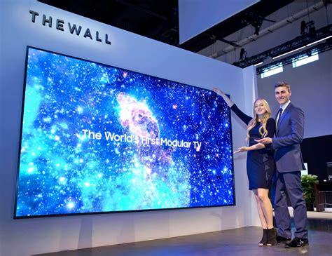 ces 2019 samsung представила модульный 75 дюймовый 4k microled телевизор