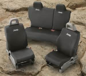 2007 Jeep Liberty Seat Covers Seat Covers Black 2007 2009 Factory Jeep Parts