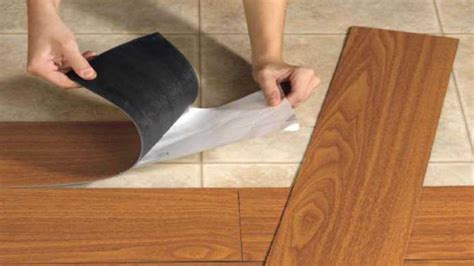 How To Install Peel And Stick Wood Flooring by Flooring101 Peel And Stick Vinyl Installation