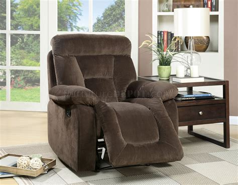 bloomington upholstery bloomington cm6129br reclining sofa in brown fabric w options