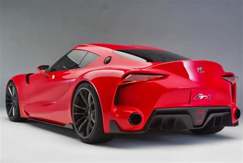 Toyota Supra Ft1 2014 Supra Toyota Car Review Specs Price And Release Date