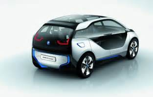 Electric Car Bmw Road Sector