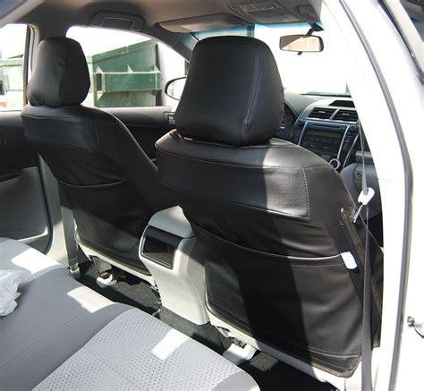 2014 Toyota Tundra Seat Covers Toyota Tundra 2014 2016 Black S Leather Custom Made