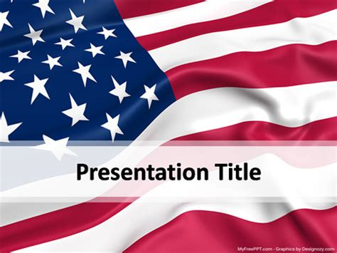 Free Election Powerpoint Templates Myfreeppt Com Patriotic Powerpoint Template