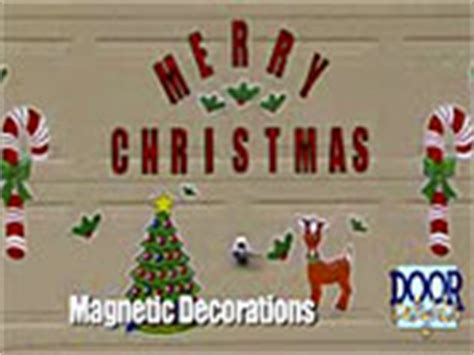 door delights magnetic christmas decorations for your