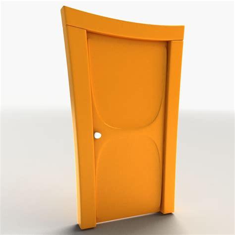porte 3d door 3d model