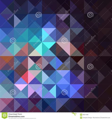 unusual vintage abstract geometric pattern stock