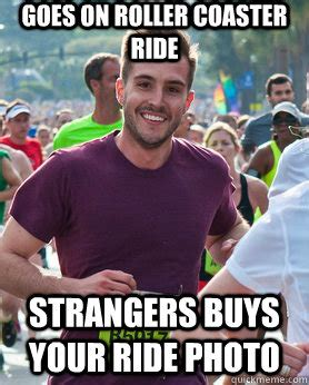 The Help Meme - goes on roller coaster ride strangers buys your ride photo