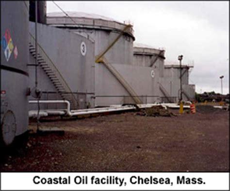 marine fuel tanks massachusetts coastal oil of new england inc chelsea terminal