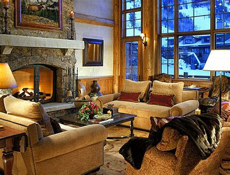home interior deco decorate a living room in winter inspirehomedecor