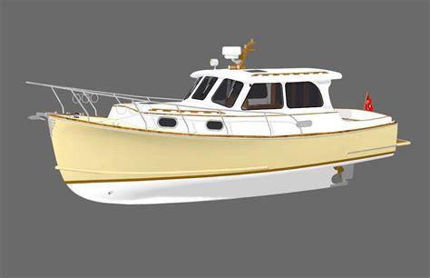 lobster boat designs plans endurance 30 lobster boat design net gallery