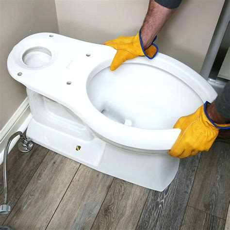 Toilet Paper Proper Way by How To Properly Install A Toilet Lower Toilet Proper Way