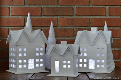 How To Make Paper Mache Houses - 12 ways to decorate paper mache for hobbycraft