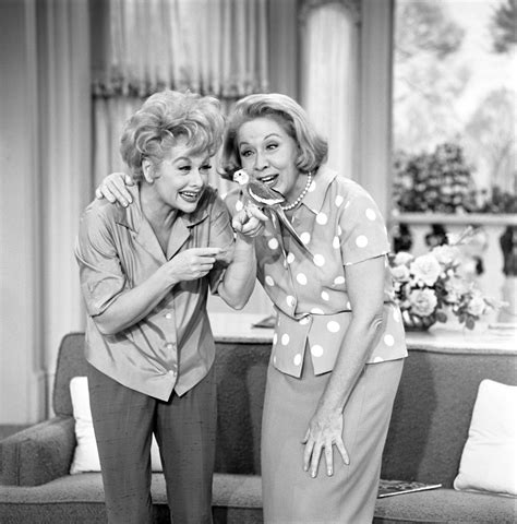 lucille ball show still of lucille ball and vivian vance in the lucy show