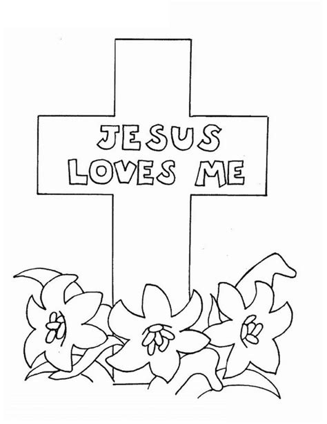 Good Friday Coloring Pages and Pintables for Kids | family