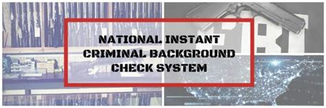 National Instant Background Check Information Technology Category Page The Justice Clearinghouse