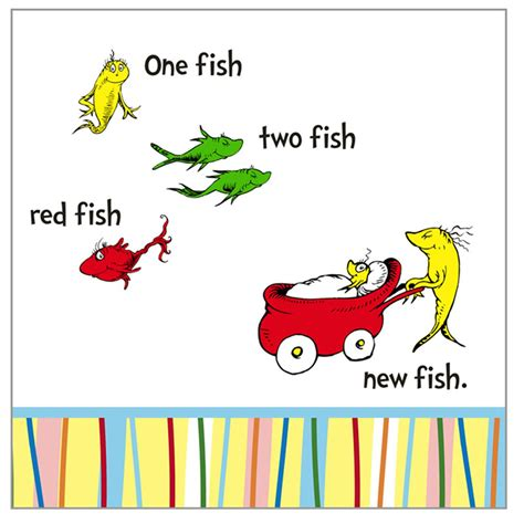 dr seuss one fish two fish clip art 25