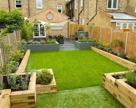 Garden Ideas With Sleepers Backyard Design Ideas Garden Sleepers Raised Garden Beds Ideas Zahrada Pinterest Raising