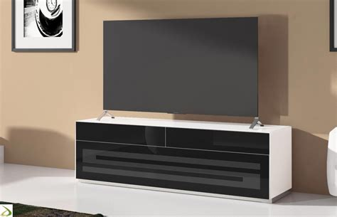 mobile porta tv design mobile tv con anta e cassetti rainbow arredo design