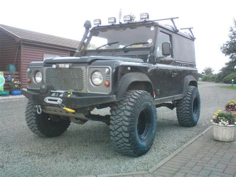 land rover defender lifted i run 35 s but on a 3 quot lift it seems to work really well