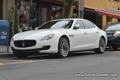 maserati of new jersey maserati quattroporte spotted in westfield new jersey on