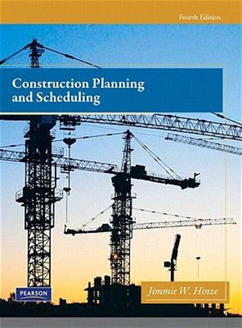 construction methods and planning books construction planning and scheduling book review
