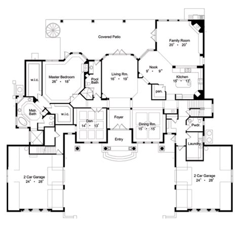 floor plans designer 5052 6 bedrooms and 6 baths the house designers