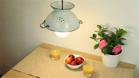 Colander Light Fixture How To Make A Colander Light Fixture