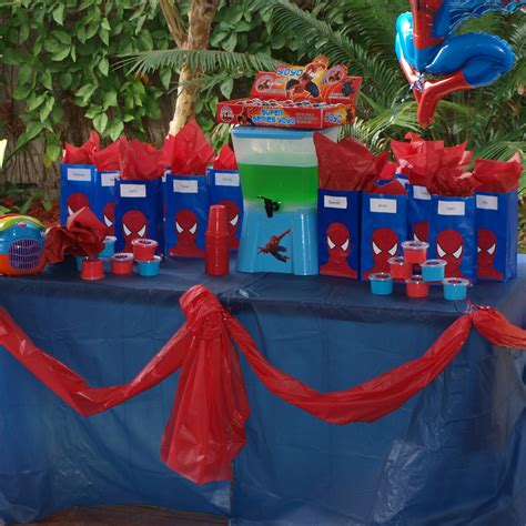 birthday themes spiderman forever busy mum spiderman party for 5 year old