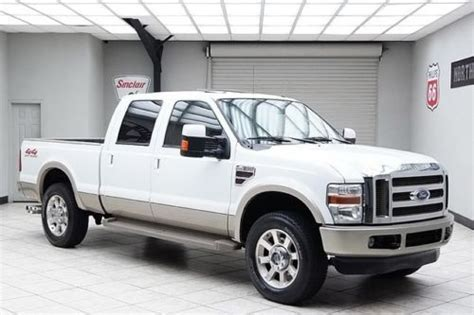 how do cars engines work 2009 ford f250 interior lighting buy used 2008 ford f250 diesel 4x4 king ranch sunroof heated leather rear camera in for us